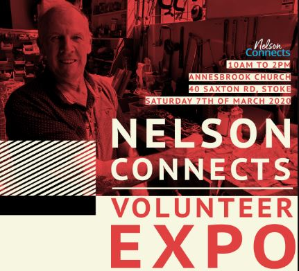 Nelson Connects Volunteer Expo – 7 March