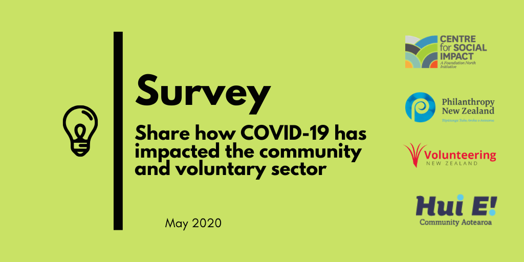 Survey – Share How Covid-19 Has Impacted The Community And Voluntary Sector
